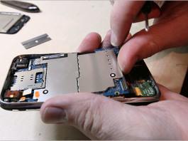 smontare iphone