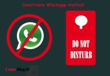 disattivare whatsapp android